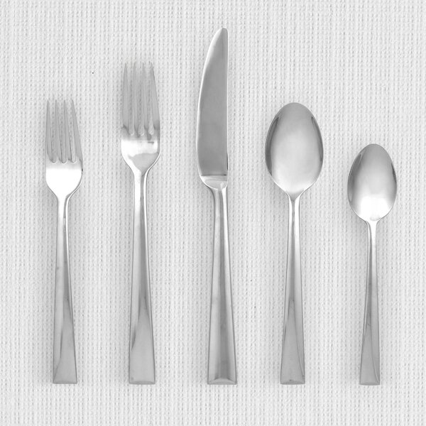 Continental Dining 5 Piece Flatware Set, Service for 1 by Lenox