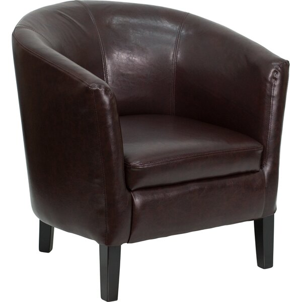 Leather Guest Chair by Offex