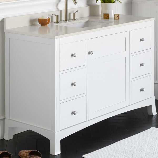 Hampton 48 Single Bathroom Vanity Set by Ronbow