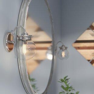 Bargain Clickett 1-Light Bath Sconce ByTrent Austin Design