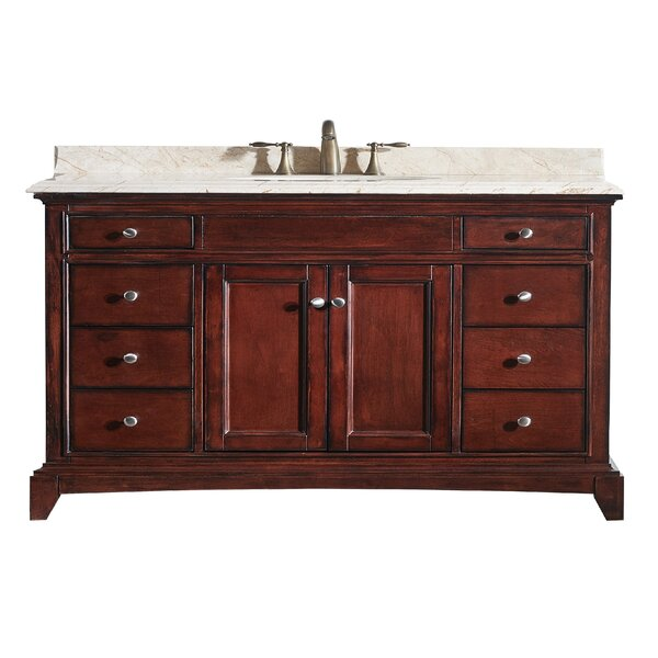 Pineville 60 Single Bathroom Vanity Set by Charlton Home