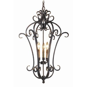 Montgomery 3-Light Foyer Pendant