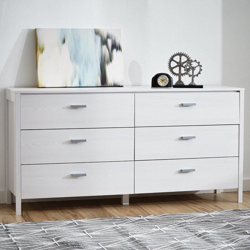 Lorraine 6 Drawer Double Dresser