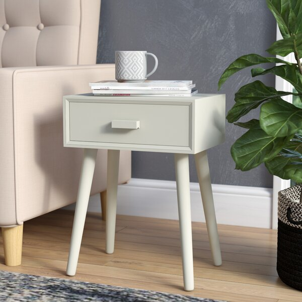 Orion End Table With Storage By Trent Austin Design