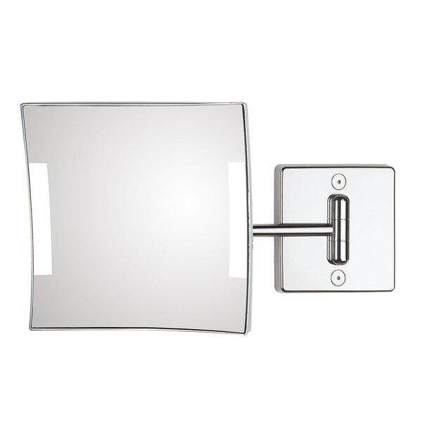 Quadrolo 1-Arm Hard Wired LED Magnifying Mirror by WS Bath Collections