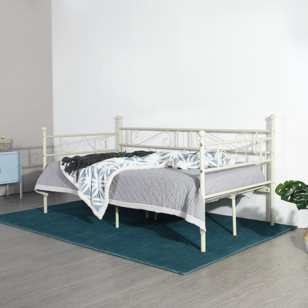 Crampton Twin Metal Daybed by Ophelia & Co. Ophelia & Co.