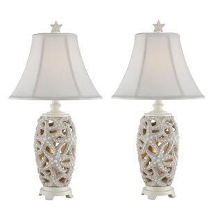 Malachy Starfish Table Lamp (Set Of 2)