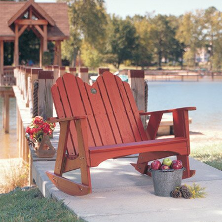 Original Rocking Adirondack Chair by Uwharrie Chair