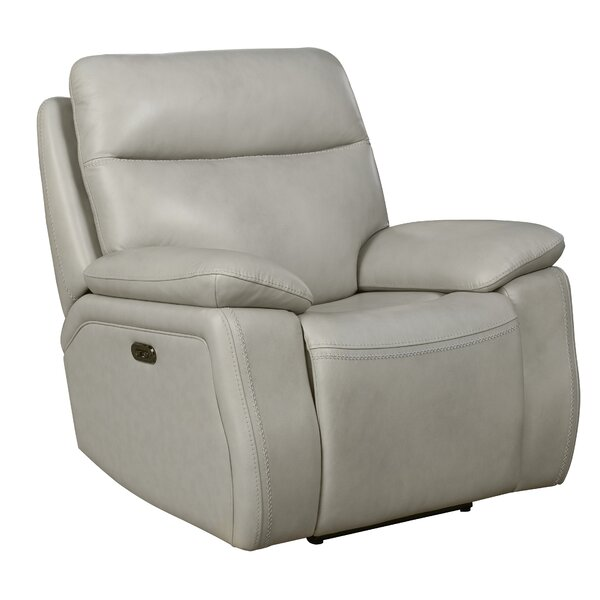 Jimmy Power Recliner Red Barrel Studio W001749874