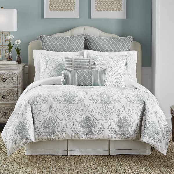 Eleyana 4 Piece Reversible Comforter Set by Croscill Home Fashions