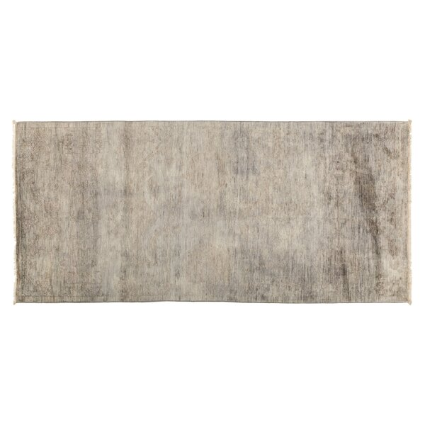 One-of-a-Kind Vibrance Hand-Knotted Gray Area Rug by Darya Rugs
