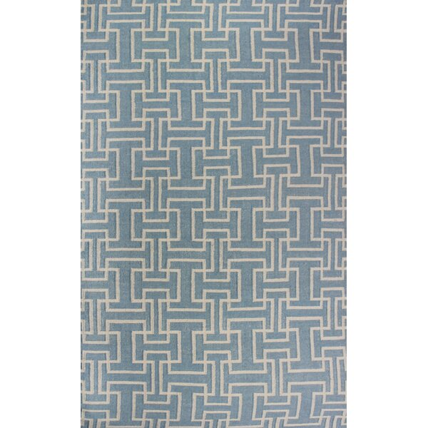 Buster Sky Gray Area Rug by Alcott Hill