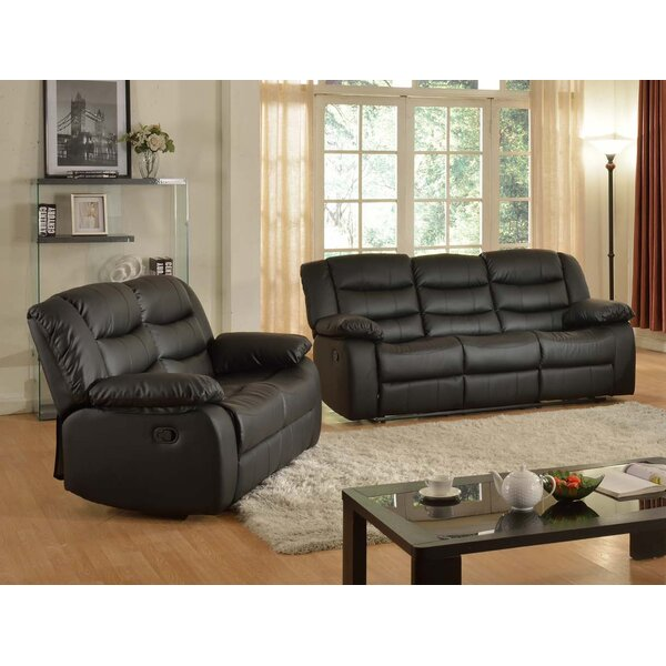 Koury Reclining 2 Piece Living Room Set by Red Barrel Studio