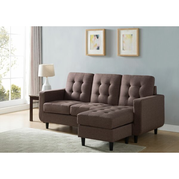 Julii Reversible Modular Sectional With Ottoman By Wrought Studio