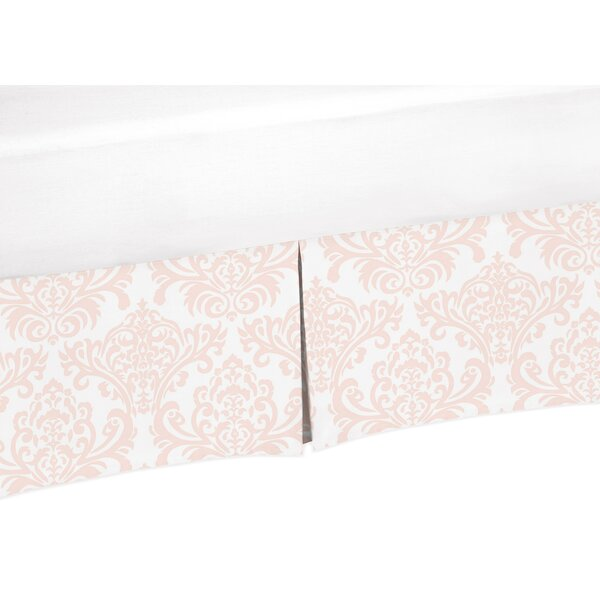 Amelia Damask Print Crib Skirt by Sweet Jojo Designs