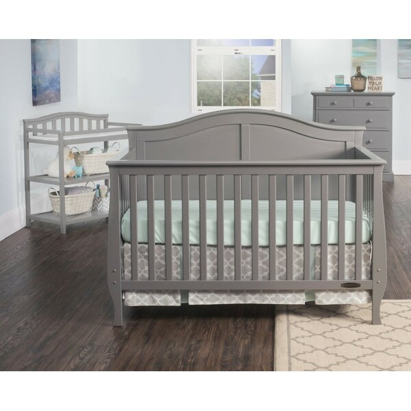 Camden 4 In 1 Convertible Crib By Child Craft.