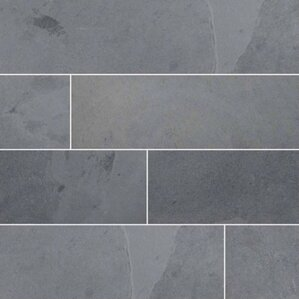 Montauk 12u0027u0027 X 12u0027u0027 Slate Field Tile ...