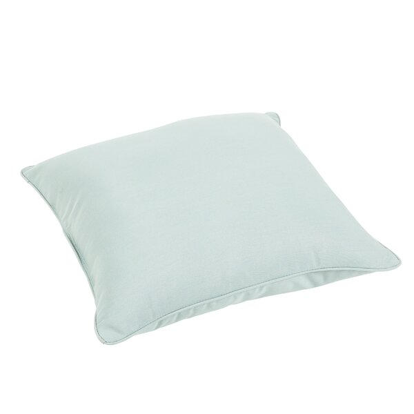 Edwards Outdoor Sunbrella Floor Pillow by Rosecliff Heights