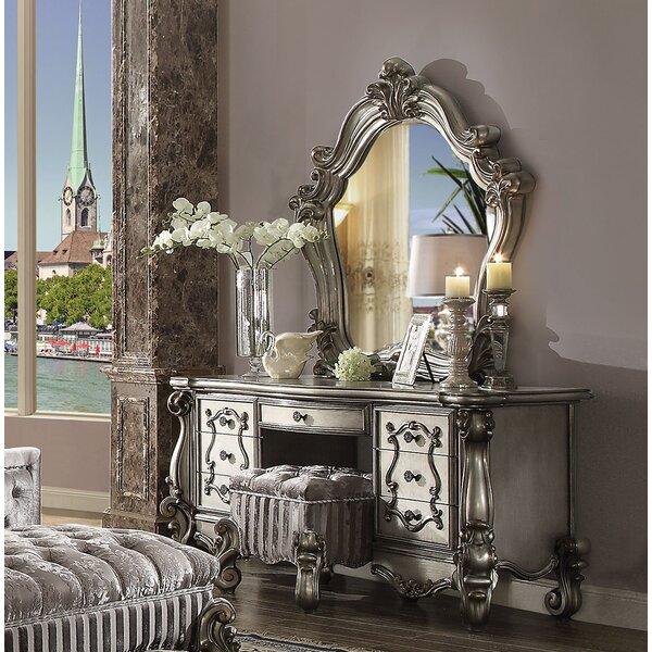 Welton 5 Drawer Dresser with Mirror by Astoria Grand