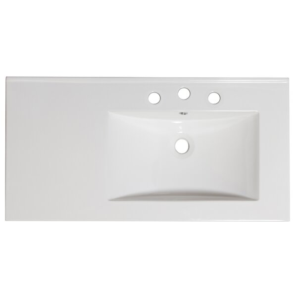 36 Single Bathroom Vanity Top by American Imaginat