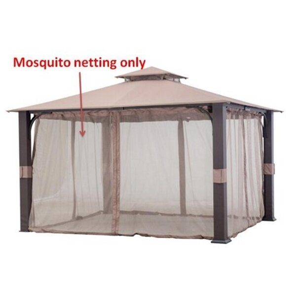 Replacement Mosquito Netting for Montgomery Gazebo by Sunjoy