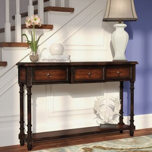Rose 3 Drawer Console Table by..