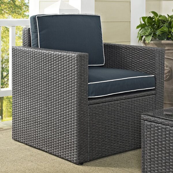 Mendelson Arm Chair with Cushion by Brayden Studio