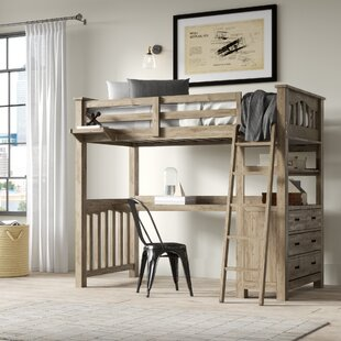 Buy clear Bedlington Loft Bed With Desk By Greyleigh
