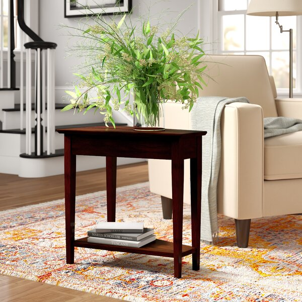 Hockensmith Solid Wood End Table By Three Posts