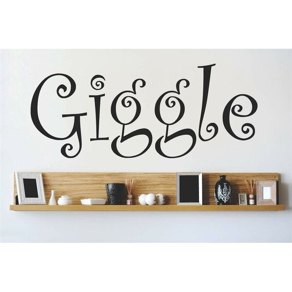 Giggle Wall Decal by Design With Vinyl