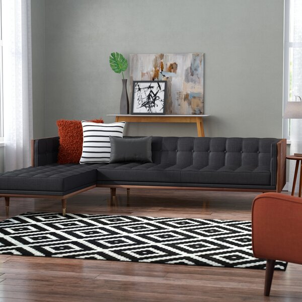 Ledger Mid-Century Sectional by Modern Rustic Interiors