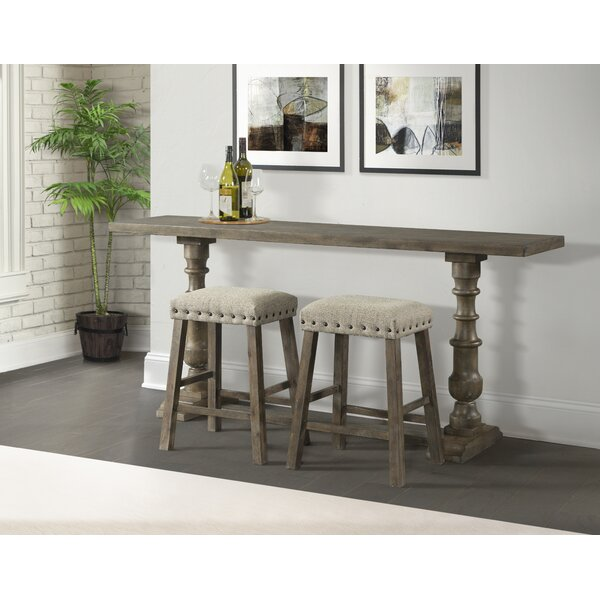 Schweitzer Sofa Pub Table by Gracie Oaks