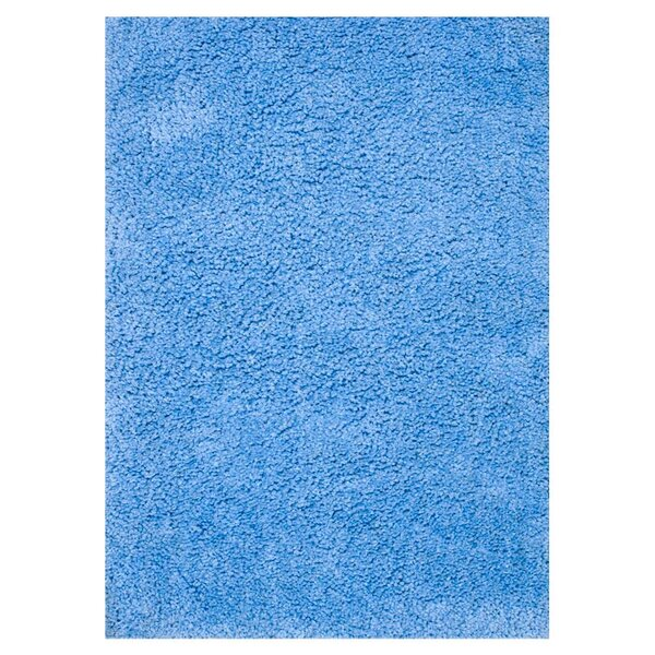 Dadi Hand-Tufted Blue Area Rug by Ebern Designs