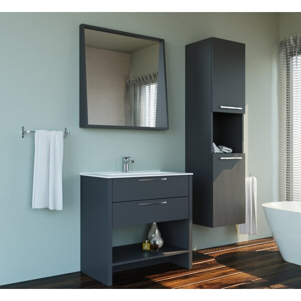 Provost 13.78 W x 59.06 H Wall Mounted Cabinet by Brayden Studio