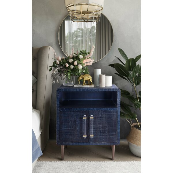 Laxton End Table With Storage By Everly Quinn