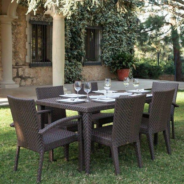 Soho 7 Piece Dining Set by Hospitality Rattan