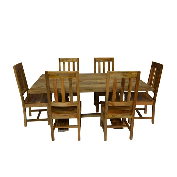Harley 7 Piece Dining Set by Millwood Pines