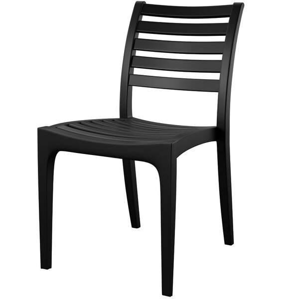 Melissus Stacking Patio Dining Chair (Set Of 2) By Mercury Row by Mercury Row #1