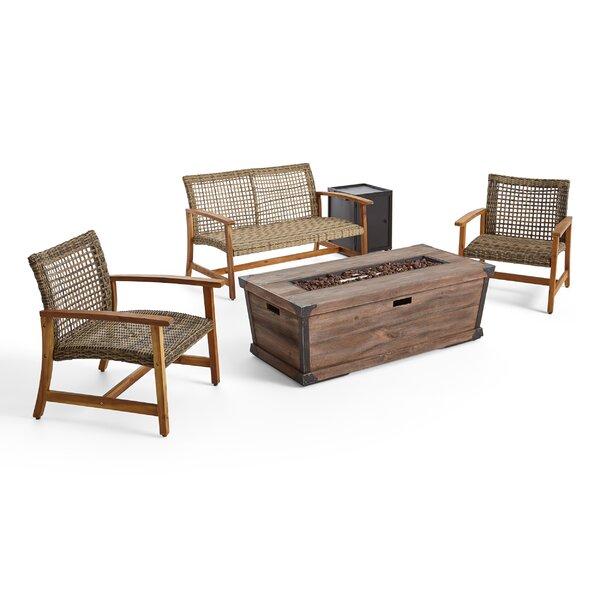 Retiro 6 Piece Sofa Seating Group by Loon Peak