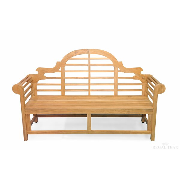 Teak Marlboro Lutyens Garden Bench by Regal Teak