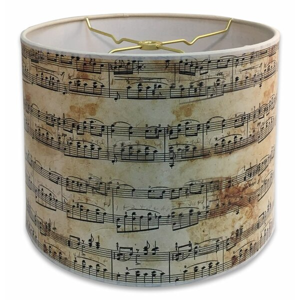 Modern Trendy Decorative Handmade 10 Paper Drum Lamp Shade by Red Barrel Studio