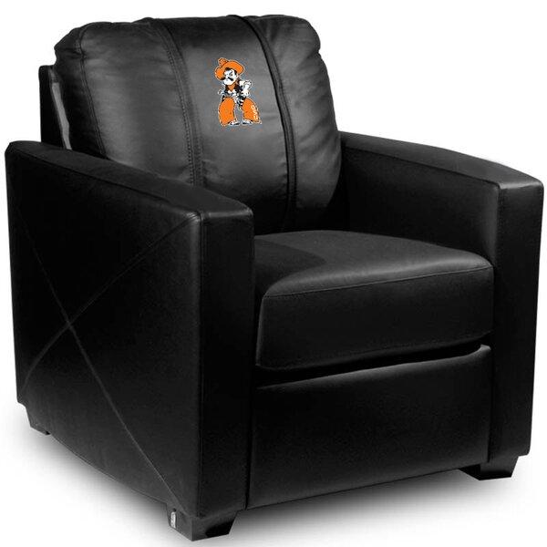Silver Club Chair by Dreamseat