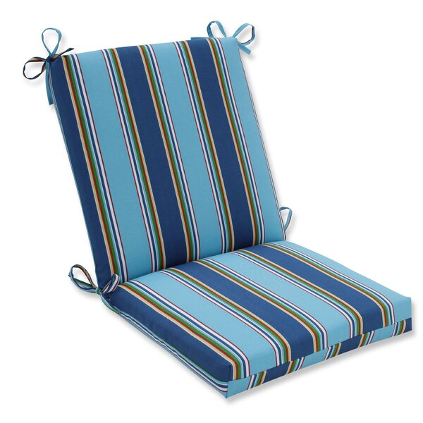 Bonfire Regata Indoor/Outdoor Dining Chair Cushion by Pillow Perfect