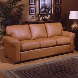 West Point Sleeper Sofa by Omnia Leather SKU:ED508103 Details