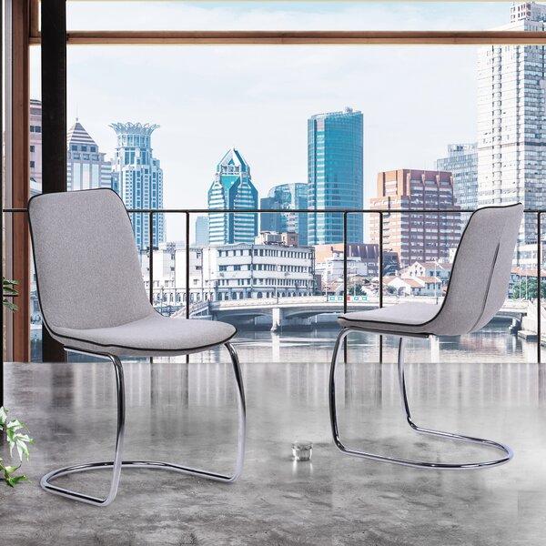 Gordillo Upholstered Dining Chair (Set of 2) by Orren Ellis