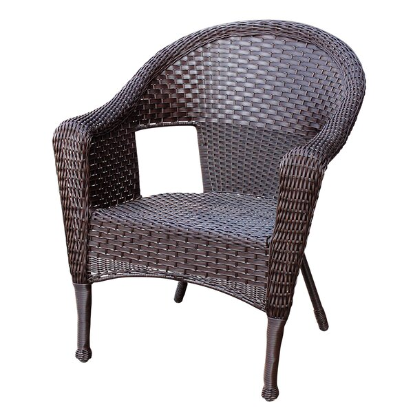 Winterbury Resin Wicker Clark Single Patio Chair by Bay Isle Home