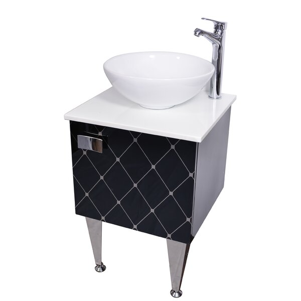 Spears 20 Single Bathroom Vanity with Faucet by Orren Ellis