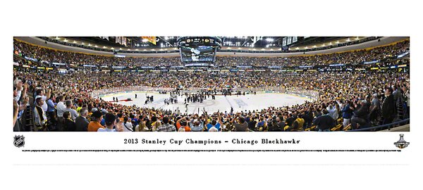 NHL 2013 Stanley Cup Champions - Chicago Blackhawks Photographic Print by Blakeway Worldwide Panoramas, Inc