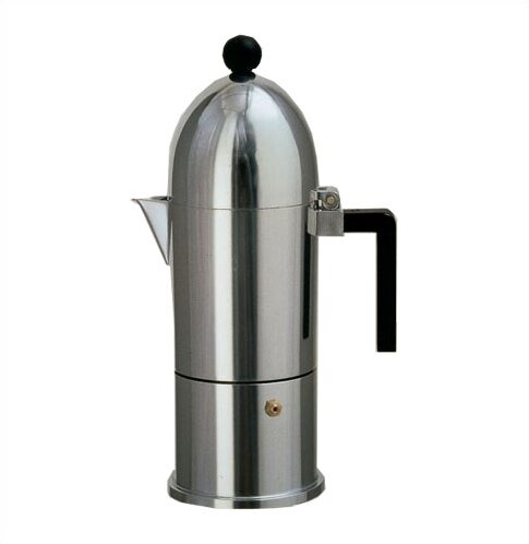 Aldo Rossi La Cupola Espresso Maker by Alessi