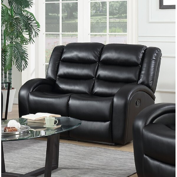 Shop For Stylishly Selected Swanner Reclining Loveseat by Winston Porter by Winston Porter